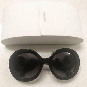 Authentic Brand New PRADA BAROQUE Sunglasses Black